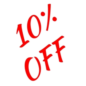10% Off Any Lawn Ornament
