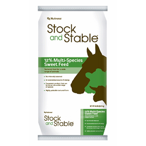 Nutrena Stock and Stable 12% Textured Sweet Multi-Species Feed