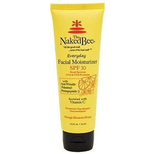 The Naked Bee Orange Blossom Honey Facial Moisturizer with SPF 30 2.5 oz