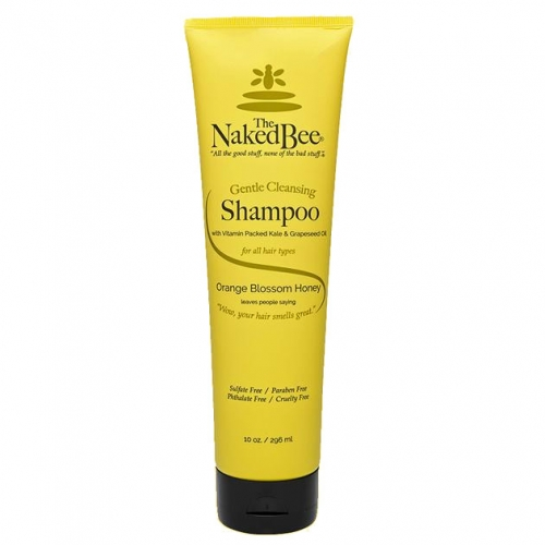 The Naked Bee Orange Blossom Honey Gentle Cleansing Shampoo 10 oz.