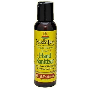The Naked Bee Orange Blossom Honey Hand Sanitizer 2 oz.