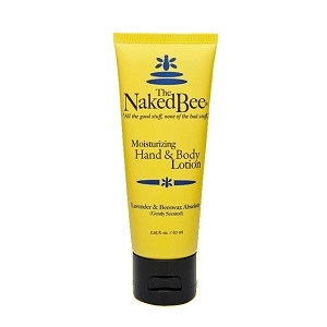 The Naked Bee Lavender & Beeswax Absolute Lotion 2.25 oz.