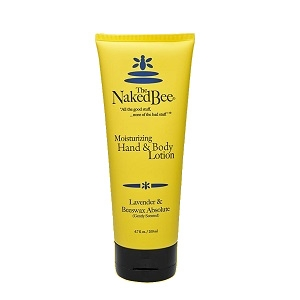 The Naked Bee Lavender & Beeswax Absolute Lotion 6.7 oz.