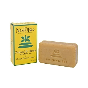 The Naked Bee Oatmeal & Honey Triple Milled Bar Soap 5.00 oz.