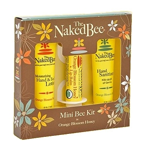 The Naked Bee Orange Blossom Honey Mini Bee Kit