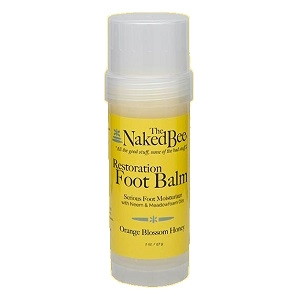The Naked Bee Restoration Foot Balm 2 oz.