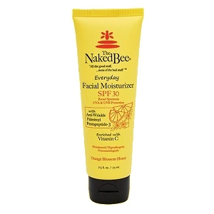 The Naked Bee Orange Blossom Honey Facial Moisturizer with SPF 30 2.5 oz.