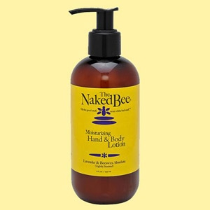 The Naked Bee Lavender & Beeswax Absolute Lotion 8 oz.