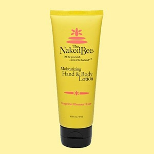The Naked Bee Grapefruit Blossom Honey Lotion 2.25 oz.