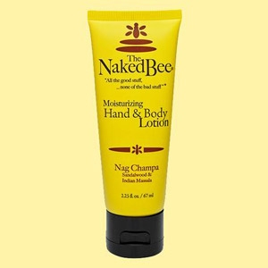The Naked Bee Nag Champa Lotion 2.25 oz.