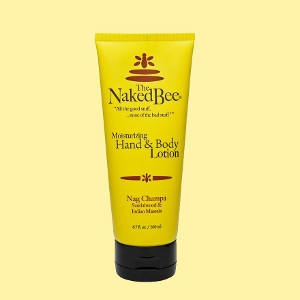 The Naked Bee Nag Champa Lotion 6.7 oz.