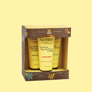 The Naked Bee Bath & Body Kit
