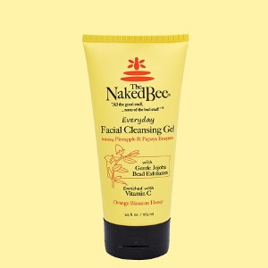 The Naked Bee Orange Blossom Honey Everyday Facial Cleansing Gel 5.5 oz.