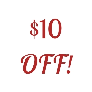$10 Off Your Purchase of $75 or More