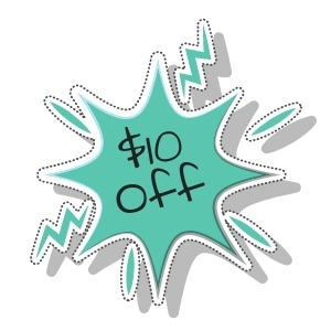 Save $10 Off Your Purchase of $75 or More