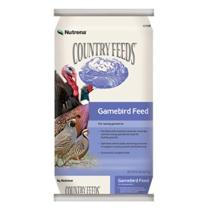 Nutrena Country Feeds Pheasant & Turkey Starter Medicated