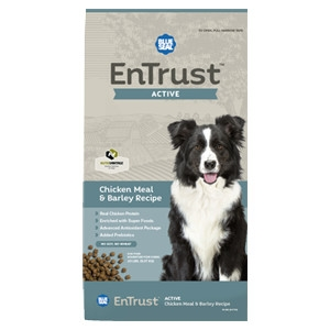 EnTrust Active Chicken Meal & Barley Recipe for Dogs