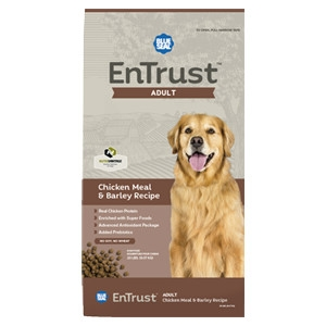 EnTrust Chicken Meal & Barley Recipe for Adult Dogs