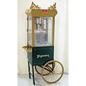 Old Time Popcorn Machine