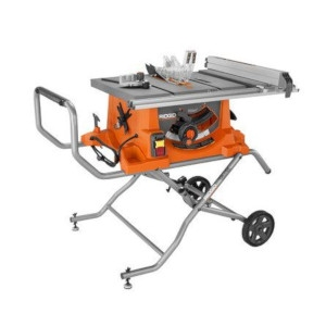 Duty 10 in. Portable Table Saw With Stand