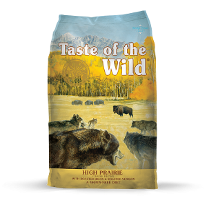 Taste of the Wild High Prarie Canine Dry Dog Food