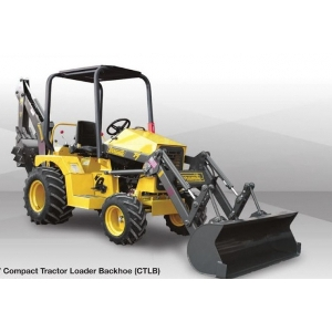 Terramite Compact Tractor Loader Backhoe