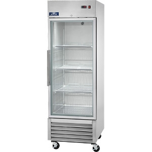 Arctic Glass Door Reach-In Refrigerator