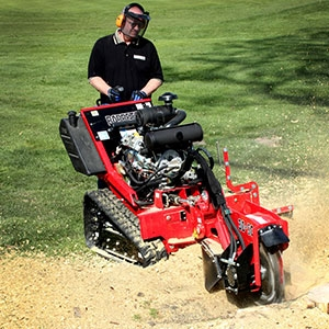 Walk-Behind Stump Grinder, Tracked