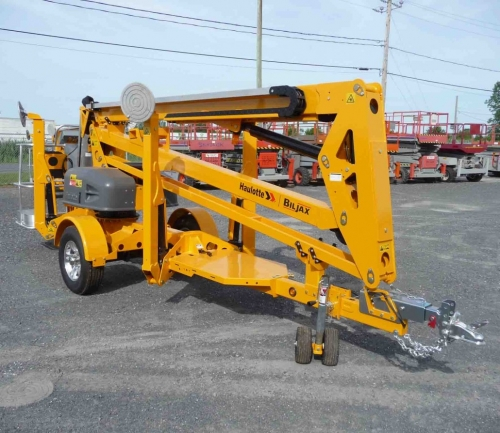 45' Towable Boom Lift (50' Working height)