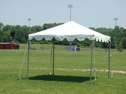 TP#1:  10x10 Tent PACKAGE (seats 8 at 1 Table)