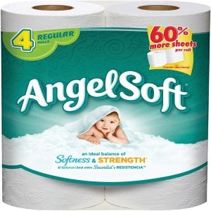 4-Roll Angel Soft® Bath Tissue - $1.49