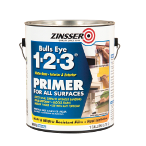 1-Gal. Bulls Eye 1- 2-3®Water-Based Primer Sealer