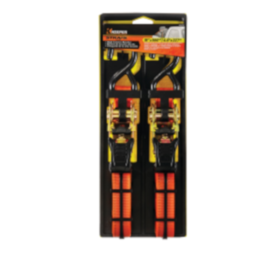 $7.99 1-In. x 15-Ft. Ratchet Tie-Downs