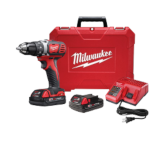 18 Volt 1/2-In. M18 Compact Drill/Driver Kit