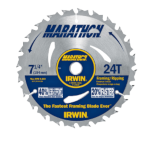 7-1/4-In. 24-Tooth Circular Saw Blade