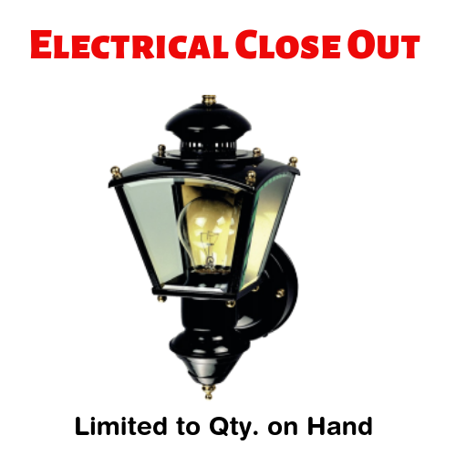 Electrical Close Out