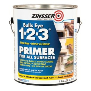Zinsser 1-Gal. Bulls Eye 1-2-3® Water-Based Primer Sealer