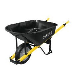 6-Cu. Ft. Wheelbarrow $79.99