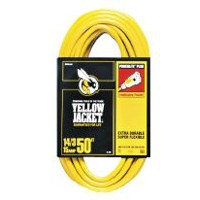 Yellow Jacket 14/3 x 50-Ft. Extension Cord