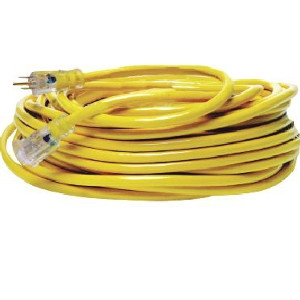 Yellow Jacket 12/3 X 100-Ft.  Extension Cord