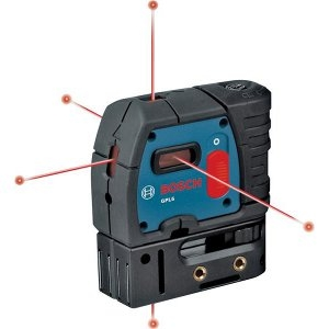 5-Point Alignment Self-Leveling Laser