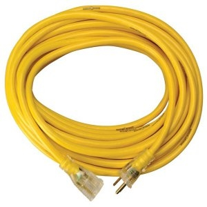 Yellow Jacket 50 Ft. Extension Cord With Powerlite Indicator Plug