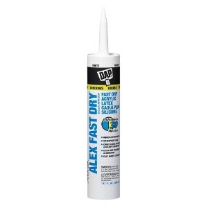 Alex Fast Dry™ Acrylic Latex Caulk Plus Silicone