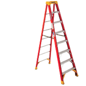 8-Ft. Type IA Fiberglass Stepladder
