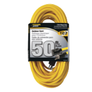12/3 x 50-Ft. OutdoorExtension Cord