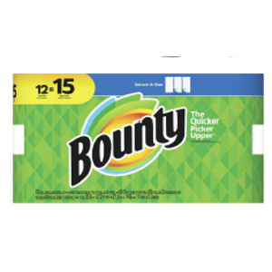 Bounty® Large 12-Roll Paper Towels