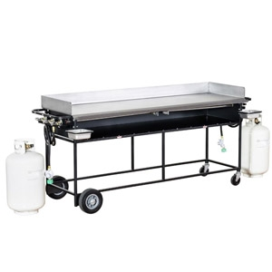 "Big John Propane 20""x72"" Griddle"