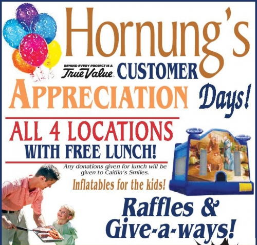 Hornung's Customer Appreciation Days!