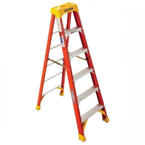 Werner Single Sided Step Ladder,