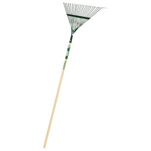 Landscaper Select Lawn/Leaf Rake With Handle